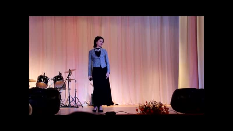 Анжела Малышкова песня Над Россией моей