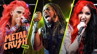 Heidi Shepherd, Ash Costello And Lajon Witherspoon | Metal Crush | SYFY WIRE