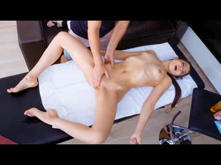 Polina Sweet - Oiled Babe Orgasms on Table  All Sex Teen Petite Massage Oil Russian Brazzers Porn Порно Русское