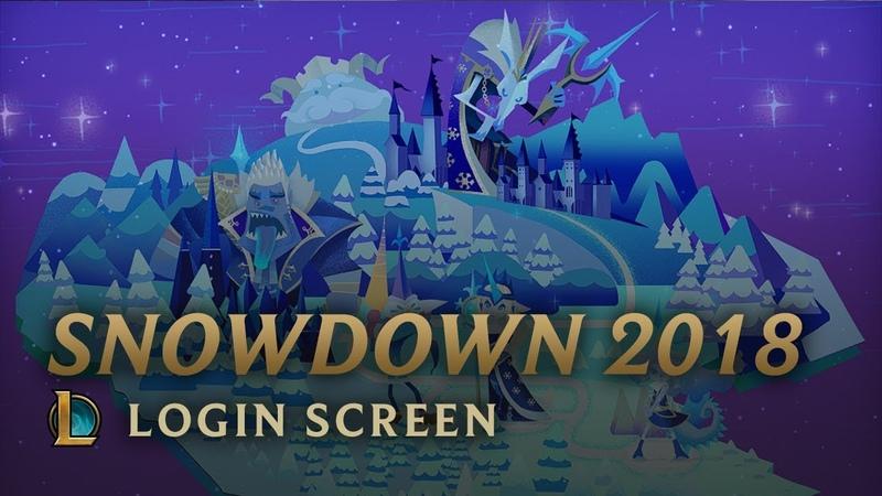 Snowdown 2018   Login Screen - League of Legends