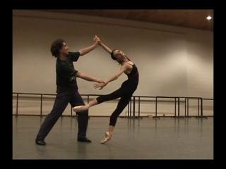 Alessandra Ferri and Julio Bocca – Manon Rehearsal with Ballet Master Willy Burmann, 2006
