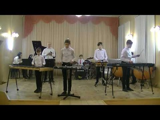 Magic Sticks percussion ensemble: Limbo Rock - Chubby Checker