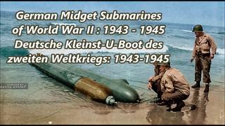 German Midget Submarines of WW2 - Deutsche kleinst U-Boote ( Relic's )