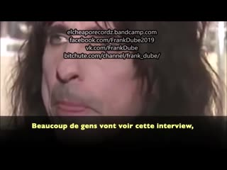 Alice Cooper, les Maronniers,l'élite et Abus d'enfants!