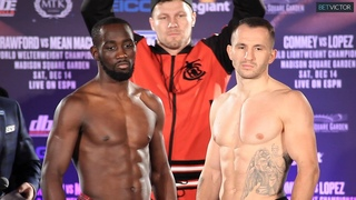Terence Crawford vs Mean Machine - FULL WEIGH IN AND FACE OFF I TOP RANK BOXING ON ESPN