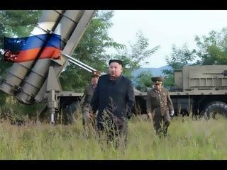 КЦТВ HD: Ким Чен Ын руководил опытным запуском ракет из сверхкрупного реактивного орудия [КОРЕЙСКИЙ]