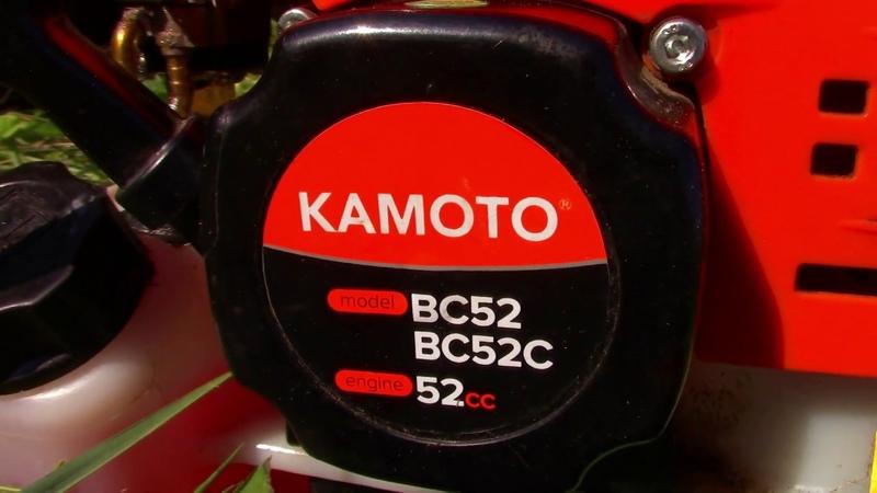 БЕНЗИНОВЫИ ТРИМЕР KAMOTO BC 52 C Косит траву лескои 2 4mm