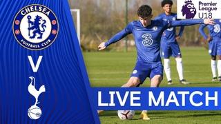 Chelsea v Tottenham Hotspur   Premier League U18   Live Match