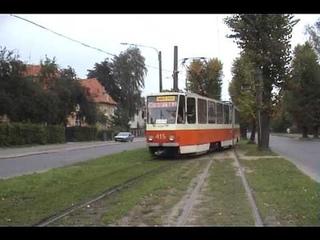 Калининградский трамвай, видеохроника 2008.  sttsv-klg