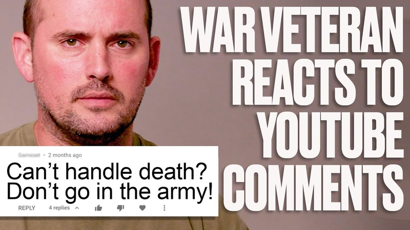 Army Veteran Responds To Trolls and Discusses His PTSD   LADbible