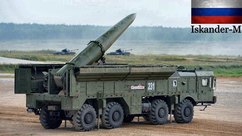 9K720 Iskander M Russian Mobile Short Range Ballistic Missile System