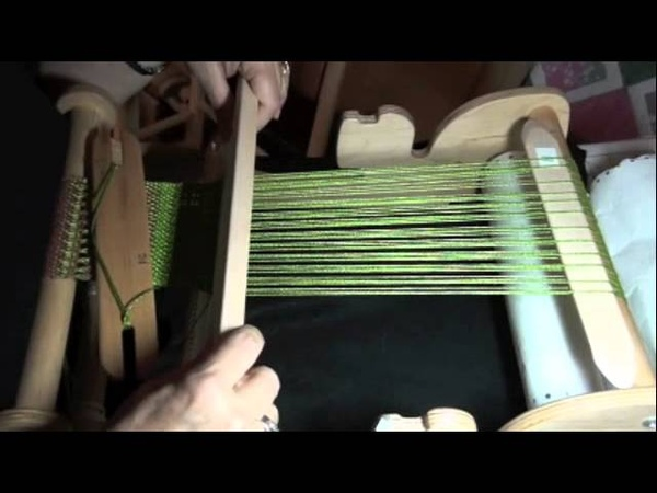 Rigid Heddle Weaving with PattyAnne Beginning Pick Up Stick