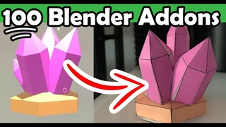 100 Free/Paid Addons for Blender 2.8 that you might find Useful! (Blender 2.8 Addons)