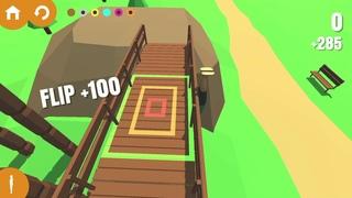 [Обновление] Flip Trickster: Parkour Simulator - Геймплей   Трейлер