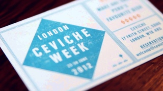 London Ceviche Week 2012: Cooking Masterclasses, Specials, Parties, and more