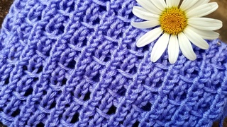 Вяжем базовый узор с протяжками ☝️ knitting pattern.