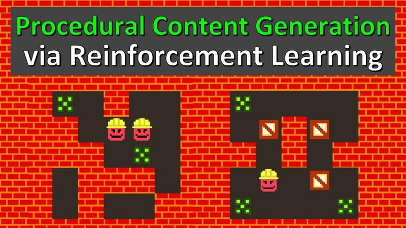 PCGRL Procedural Content Generation via Reinforcement Learning Paper Explained