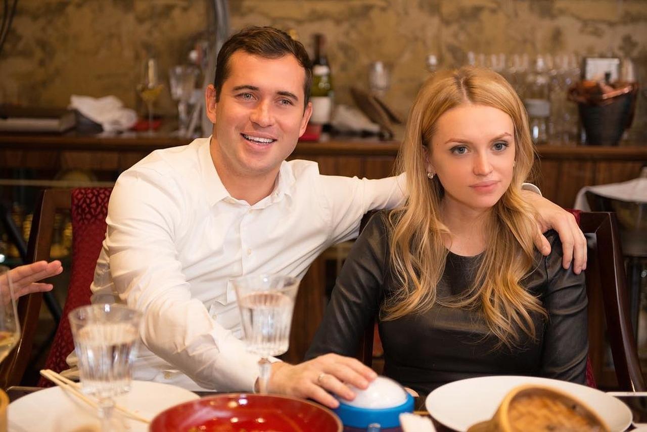 Александр Кержаков и Милана Тюльпанова