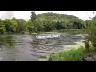 В Днепре лучше не рыбачить