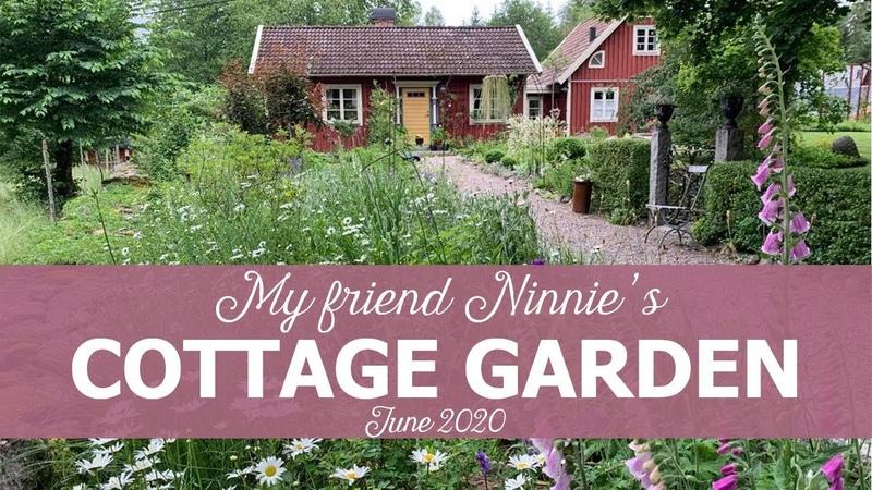Ninnies Cottage Garden Sweden June 2020