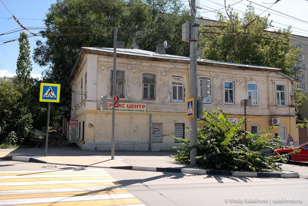 Дома в историческом центре Саратова, 2020