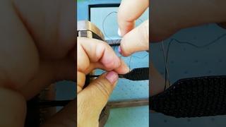 Cómo cerrar un brazalete