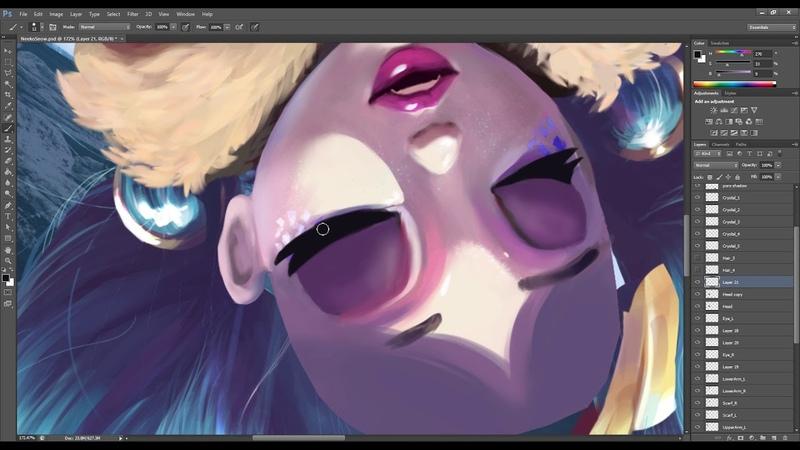 Neeko Snowdown fanart - Animation