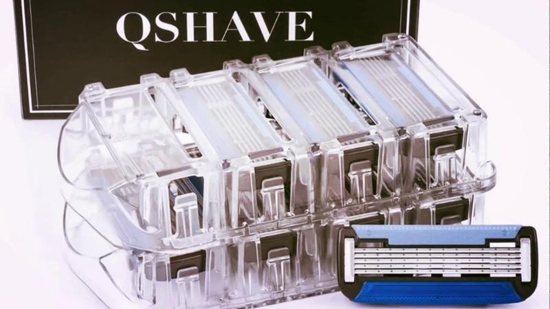 Кассеты для бритвенного станка Qshave Qshave Shaving Cartridges