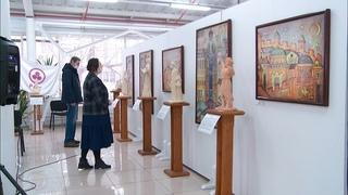 """Выставка """"Благие посетившие"""" в Бийске (новости, г., Бийское телевидение)"""
