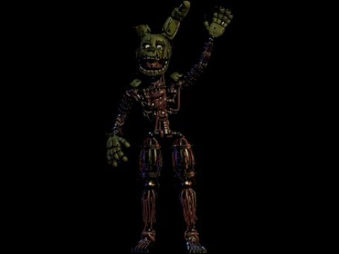Springtraps New Secret Jumpscare!