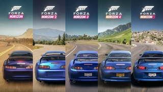 Forza Horizon 5 - Sound Comparison