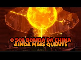 INACREDITÁVEL - SOL ARTIFICIAL DA CH1NA ALCANÇOU 160 MILHÕES DE GRAUS