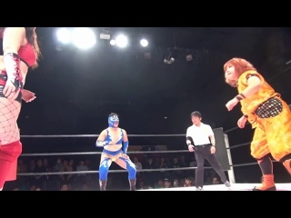 Alex Lee vs. Diosa Atenea vs. Kaori Yoneyama