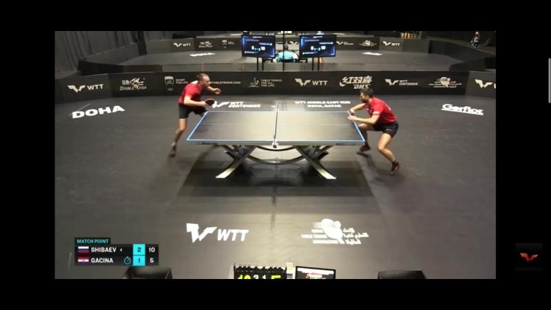 WTT Doha Шибаев - Гачина 3-1