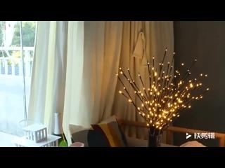 Светодиодный запасами ивовых деревьев дерево светильник-ветка