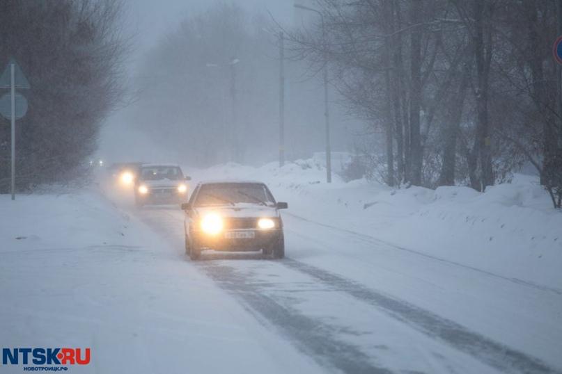 Трассу «Орск — Оренбург» закрыли из-за непогоды