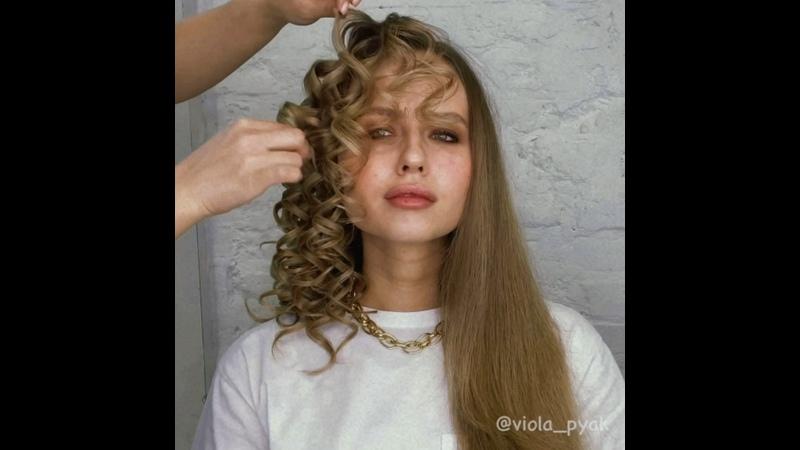 Локоны на конусную плойку ghd curve creative curl™