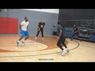 J. R. Smith GOES Crazy in NBA 3v3 VS. Troy Daniels & Liz Cambage!! (ChrisJohnsonHoops; 19-02-2021)