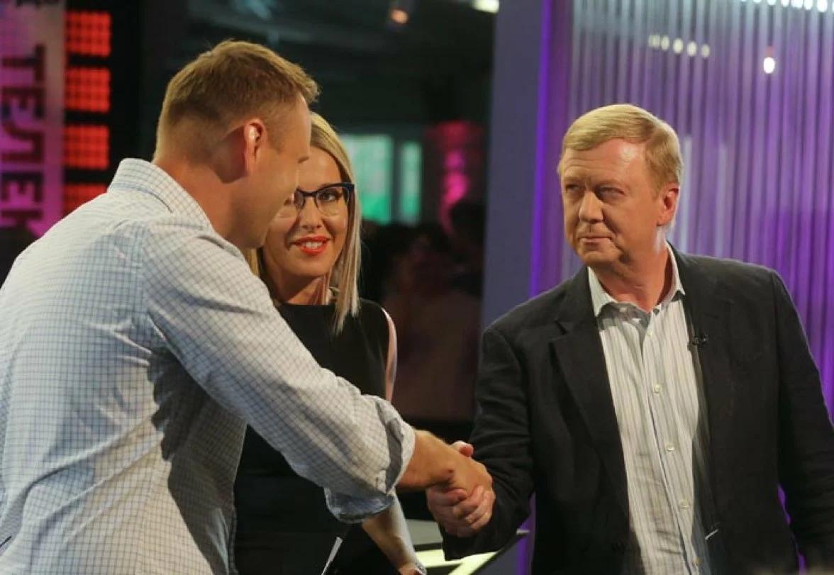 Навальный и Чубайс.