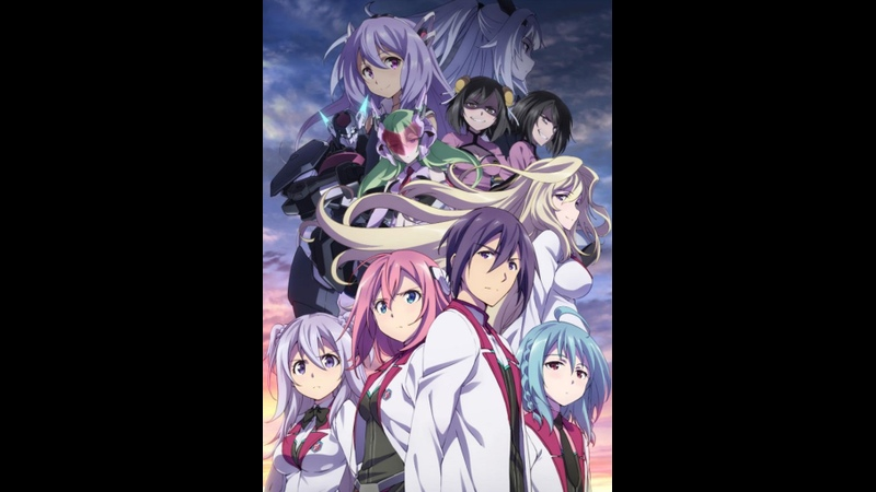 1 12 Серия Боевая академия города Астериск 2 Gakusen Toshi Asterisk 2nd Season AniDUB