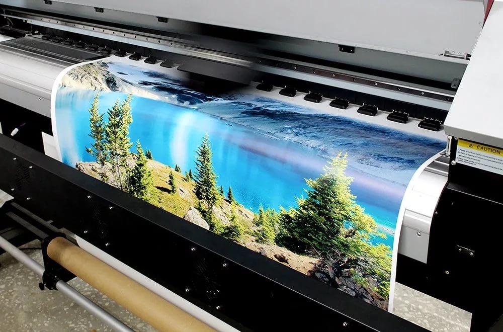 Сублимационная печать принта на ткани