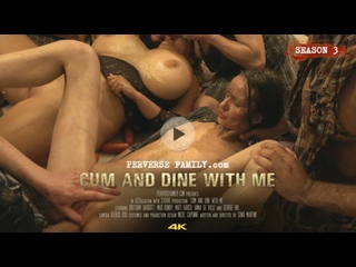 Cum And Dine With Me - MILF big natural tits bizarre creampie extreme fatty fetish food fetish group titjob