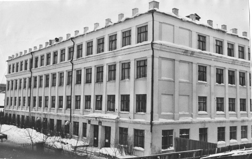 Средняя школа № 14. 1960-е гг.
