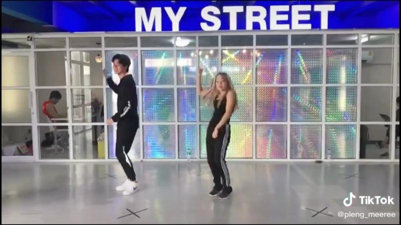 gulf dancing (tiktok pleng_meeree 21052020)