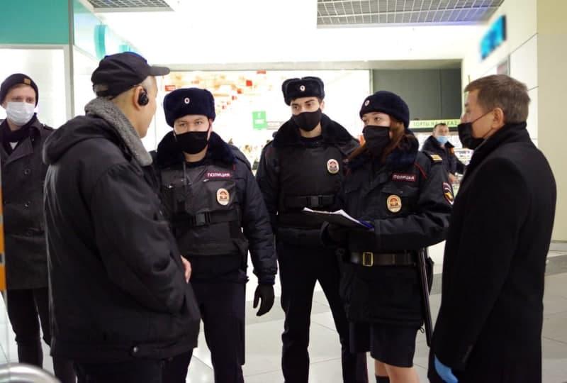 ТЦ «Город на Рязанке» могут оштрафовать за нарушения мер профилактики COVID-19. Фото УВД по ЮВАО