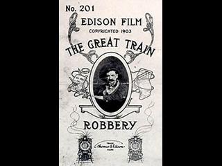 Большое ограбление поезда, 1903, вестерн, США