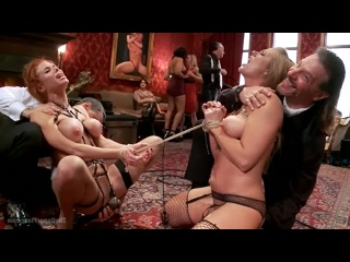 Veronica Avluv, Holly Heart - Two Gorgeous MILFs Fucked at the Anal Brunch 20.12.13, Squirt, BDSM, Gape, Bondage, Big Tits Boobs