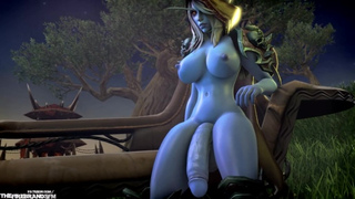Porn wow sylvanas Wow Sex