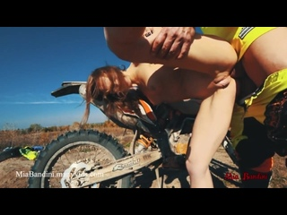 MIA BANDINI-I GOT A RIDE ON A MOTORCYCLE AND GOT FUCKED IN MY