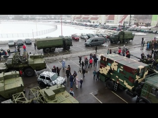 Выставку военной техники организовали у Ледового в Бресте